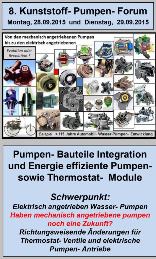 8. Kunststoff- Pumpen- Forum